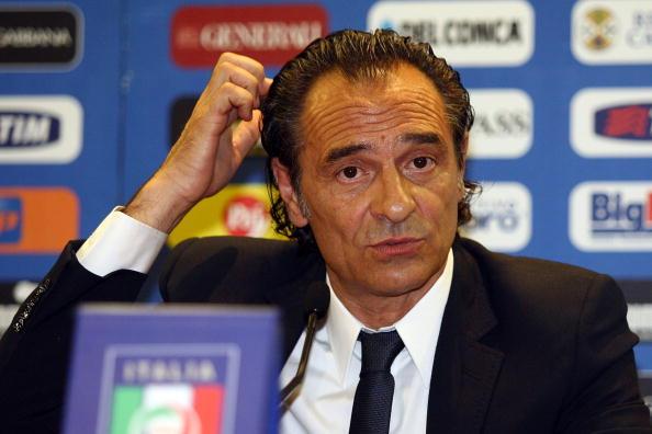 FIGC Unveils New Coach Cesare Prandelli