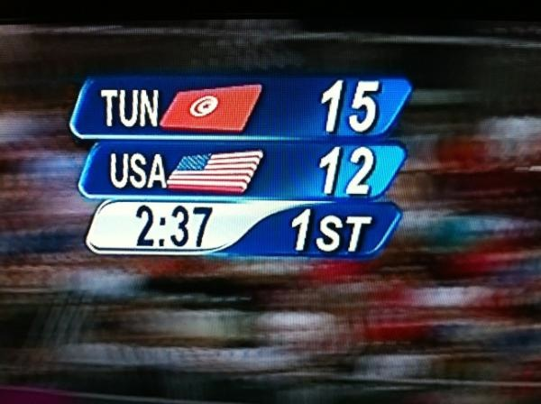 Tunisia-Usa 15-12
