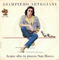 La copertina del singolo Acqua alta in piazza San Marco