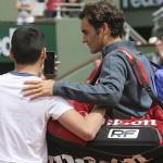 Federer-selfie