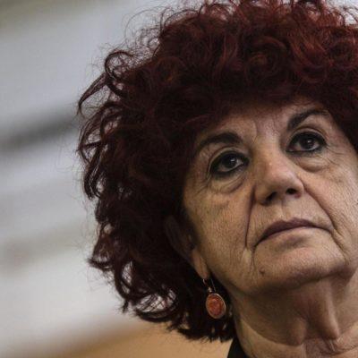 Valeria Fedeli durante il Pes Woman Summit al congresso del Partito Socialista Europeo nel centro congressi all'Eur. Roma 28 febbraio 2014 ANSA/ANGELO CARCONI