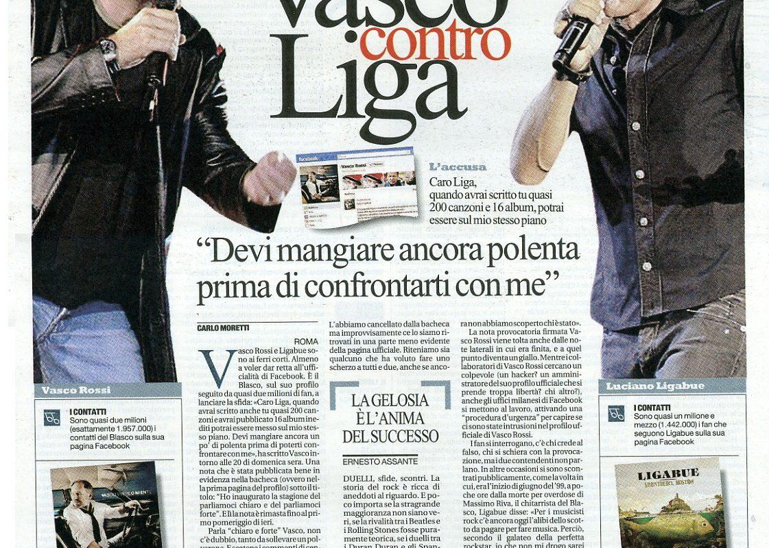 Frasi Vasco E Ligabue.Vasco O Ligabue Indiscreto